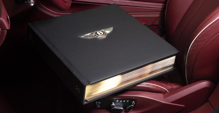 Z okazji 100. urodzin Bentley wypuścił księgę ważącą ponad 30 kg<