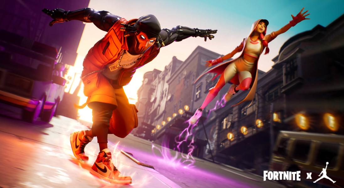 Fortnite x Air Jordan – bohaterowie gry komputerowej w kultowych butach sportowych