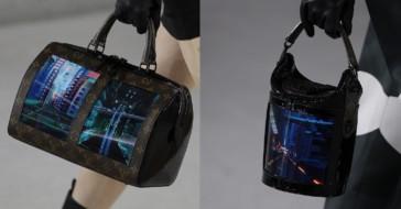 Louis Vuitton zaprezentował torebki z elastycznymi ekranami