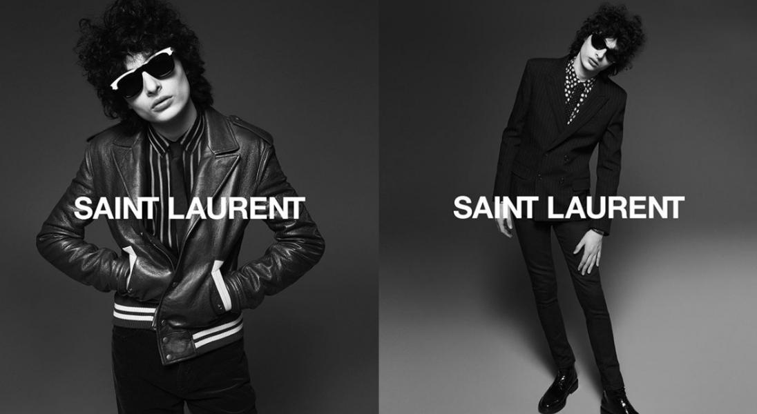 """Aktor Finn Wolfhard ze ,,Stranger Things"""" gwiazdą najnowszej kampanii Saint Laurent"""