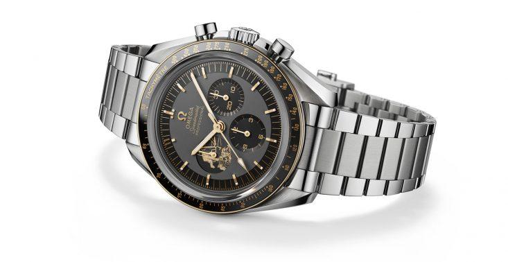 Omega stworzyła limitowaną edycję zegarka Speedmaster z okazji 50. rocznicy lądowania człowieka na Księżycu<