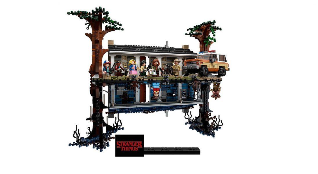 """The Upside Down: LEGO stworzyło zestaw klocków inspirowanych serialem ,,Stranger Things"""""""