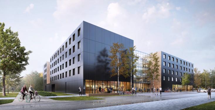 W Poznaniu pojawi się niezwykły akademik – każdy pokój wyposażony będzie w łazienkę i aneks kuchenny<