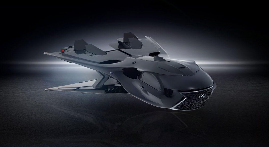 """Lexus zaprezentował niezwykły odrzutowiec w ramach filmu ,,Men In Black: International"""""""