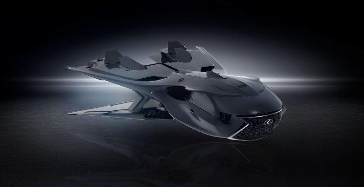 """Lexus zaprezentował niezwykły odrzutowiec w ramach filmu ,,Men In Black: International""""<"""