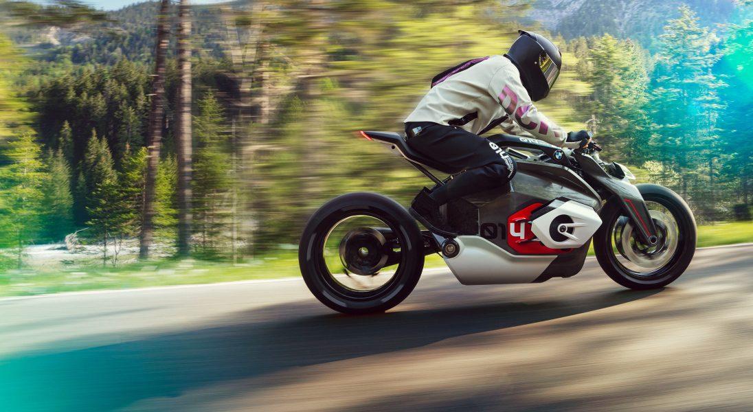 BMW zaprezentowało nowy elektryczny motocykl (bliskiej) przyszłości