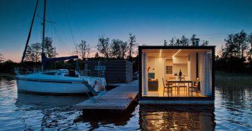 6 polskich domków na wodzie, w których będziesz chciał spędzić całe lato