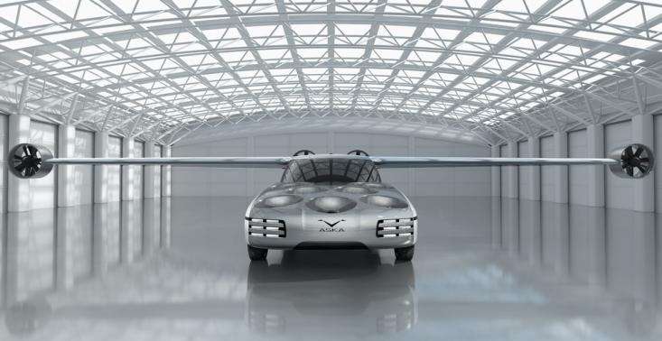Czas na nowy środek transportu – przedstawiamy niezwykły latający samochód Aska<
