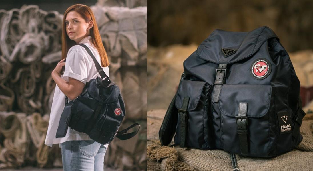 Re-Nylon: Prada stworzyła kolekcję toreb i plecaków ze starych dywanów