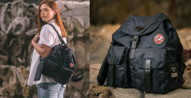 Re-Nylon: Prada stworzyła kolekcję toreb i plecaków ze starych dywanów<