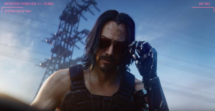 Mamy zwiastun nowej polskiej gry komputerowej Cyberpunk 2077 z Keanu Reevesem<