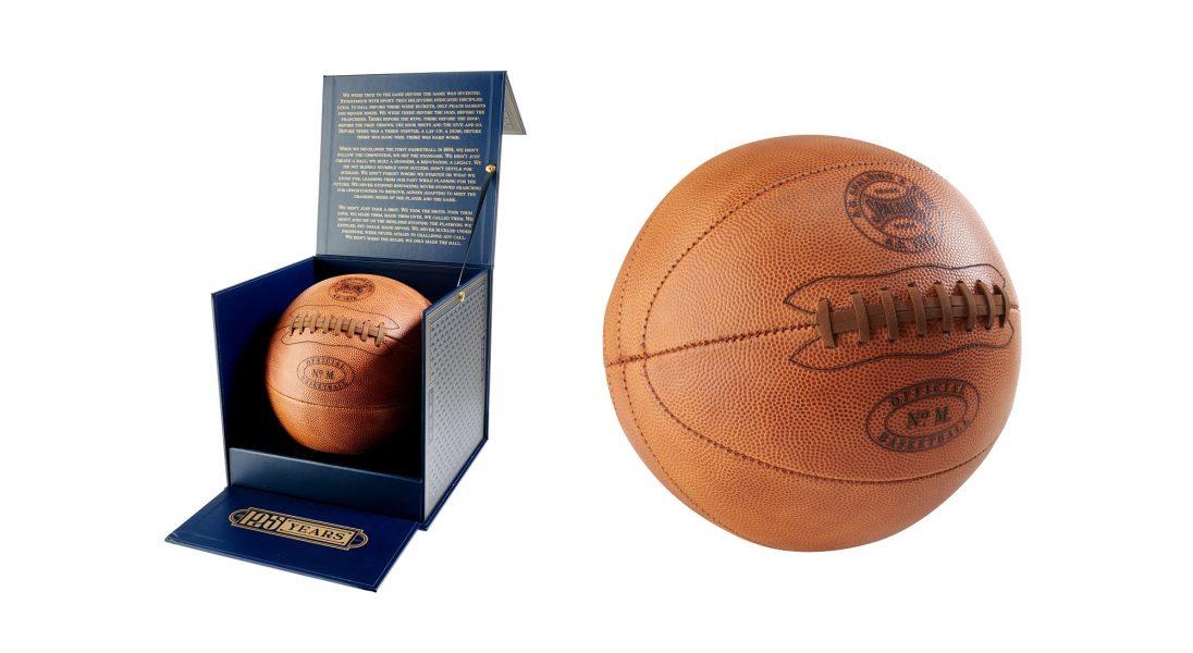 Z okazji 125 urodzin marka Spalding przywraca swoją kultową piłkę do kosza