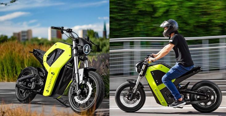W Warszawie powstaje pierwszy elektryczny motocykl<