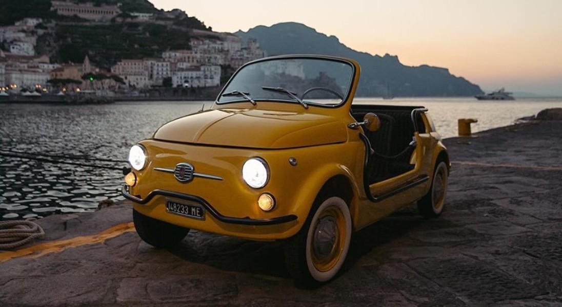 """Przeżyj włoskie wakacje rodem z lat 50. - Hertz oferuje wynajem Fiata 500 Jolly ,,Spiaggina"""""""