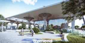 Projekt nowego ekologicznego dworca metropolitalnego w Lublinie wyróżniony w konkursie World Building of the Year