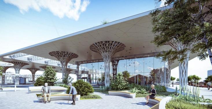 Projekt nowego ekologicznego dworca metropolitalnego w Lublinie wyróżniony w konkursie World Building of the Year<