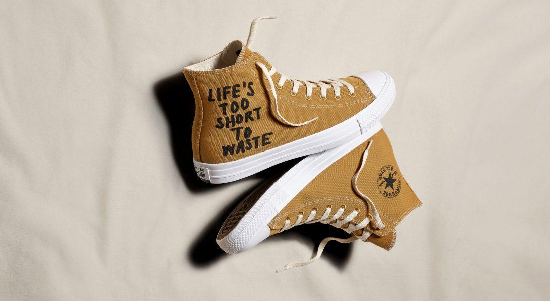 Converse będzie produkować swój kultowy model butów z materiałów pochodzących z upcyklingu i recyklingu