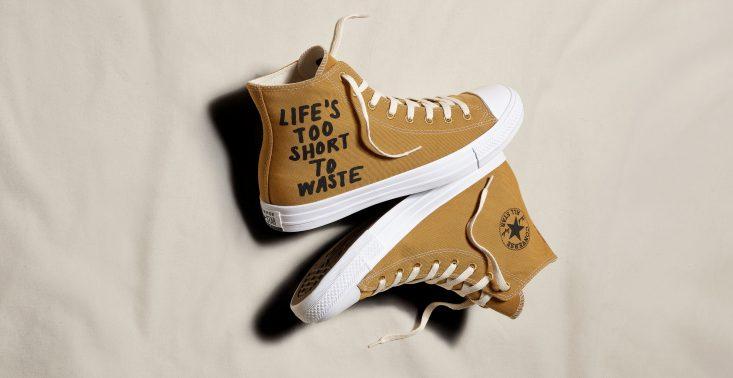 Converse będzie produkować swój kultowy model butów z materiałów pochodzących z upcyklingu i recyklingu<