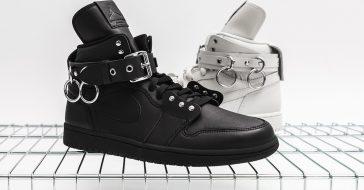Marki Comme des Garcons i Air Jordan stworzyły designerskie buty sportowe