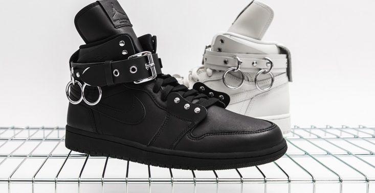 Marki Comme des Garcons i Air Jordan stworzyły designerskie buty sportowe<