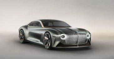 Bentley przedstawia swoją wizję przyszłości, czyli luksusowego elektryka EXP 100 GT Coupe