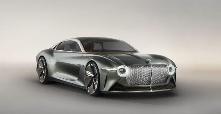 Bentley przedstawia swoją wizję przyszłości, czyli luksusowego elektryka EXP 100 GT Coupe<