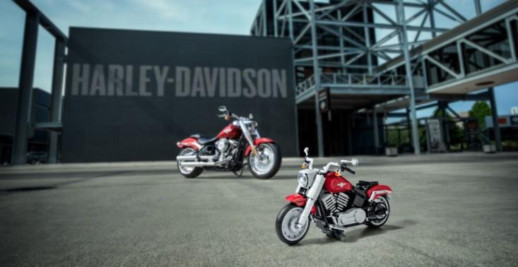 LEGO wypuszcza zestaw, z którego zbudujemy motocykl Harley-Davidson Fat Boy<