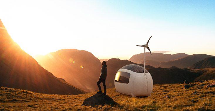 Ecocapsule: Futurystyczne i ekologiczne mieszkanie w jednym<