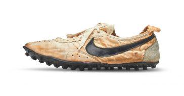 """Buty marki Nike ,,Moon Shoe"""" sprzedano za rekordową kwotę 1,6 mln złotych"""