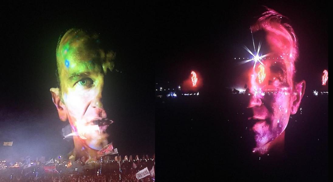 Tomasz Kot pojawił się na wizualizacjach podczas koncertu The Chemical Brothers na festiwalu Glastonbury