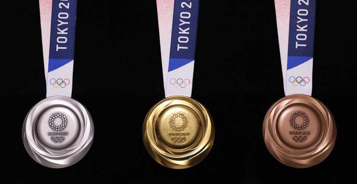 Zaprezentowano medale z igrzysk olimpijskich w Tokio 2020 – są wykonane z elektrośmieci<