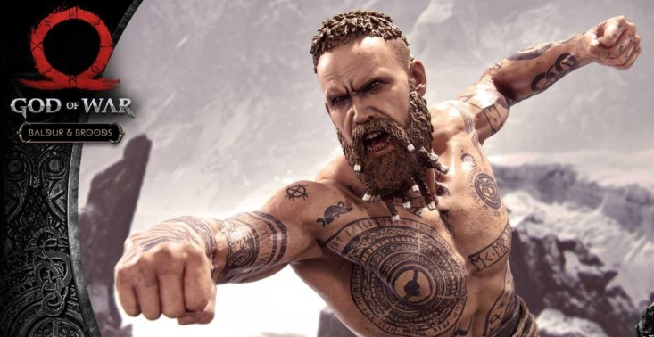 """Przedstawiamy figurkę Baldura z gry ,,God of War"""" – kosztuje ponad 4,5 tys. złotych<"""