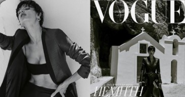 """Sonia Szóstak sfotografowała Alessandrę Ambrosio dla greckiej edycji ,,Vogue'a"""""""