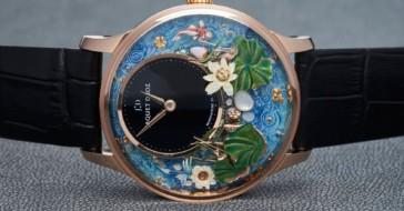 Bajkowy ogród zamknięty w nowym zegarku marki Jaquet Droz