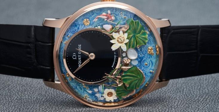 Bajkowy ogród zamknięty w nowym zegarku marki Jaquet Droz<