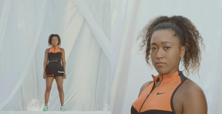 Tenisistka Naomi Osaka w stroju NikeCourt x Sacai wystąpi na tegorocznym US Open<