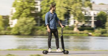 E-Tron Scooter – nowa elektryczna hulajnoga i deskorolka w jednym marki Audi