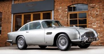 Aston Martin DB5 Jamesa Bonda sprzedany za rekordową kwotę