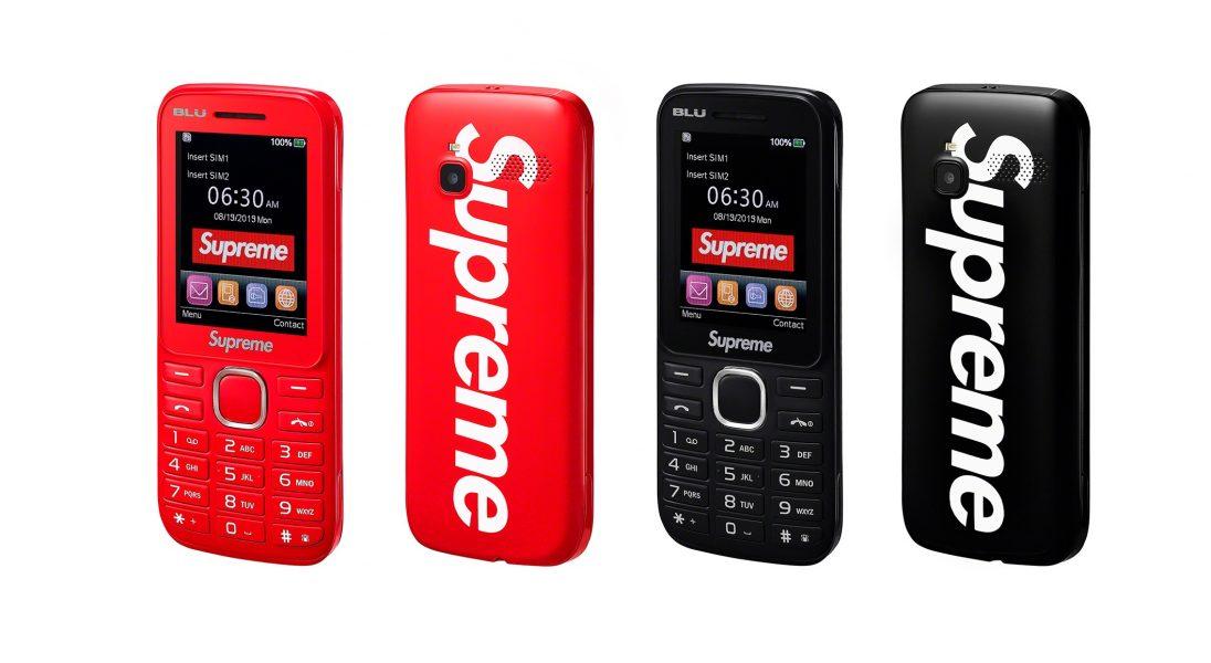 Supreme prezentuje swój telefon – Supreme Burner Phone
