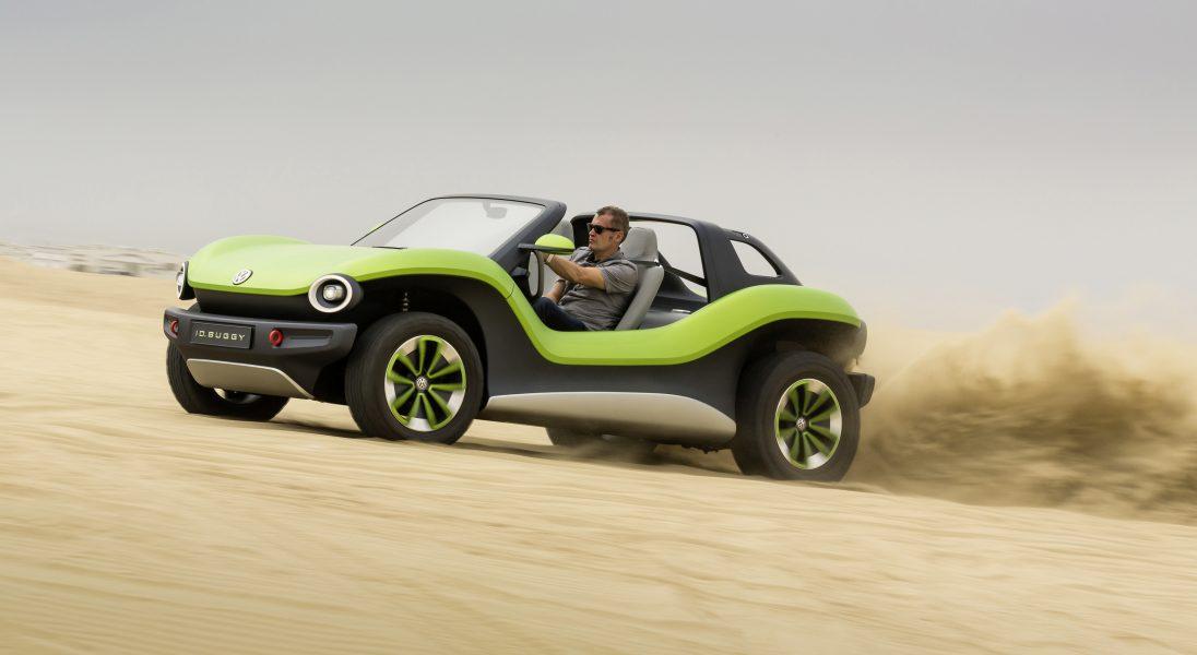Niesamowity Volkswagen ID. BUGGY przykuwa spojrzenia podczas Concours d'Elegance w Pebble Beach