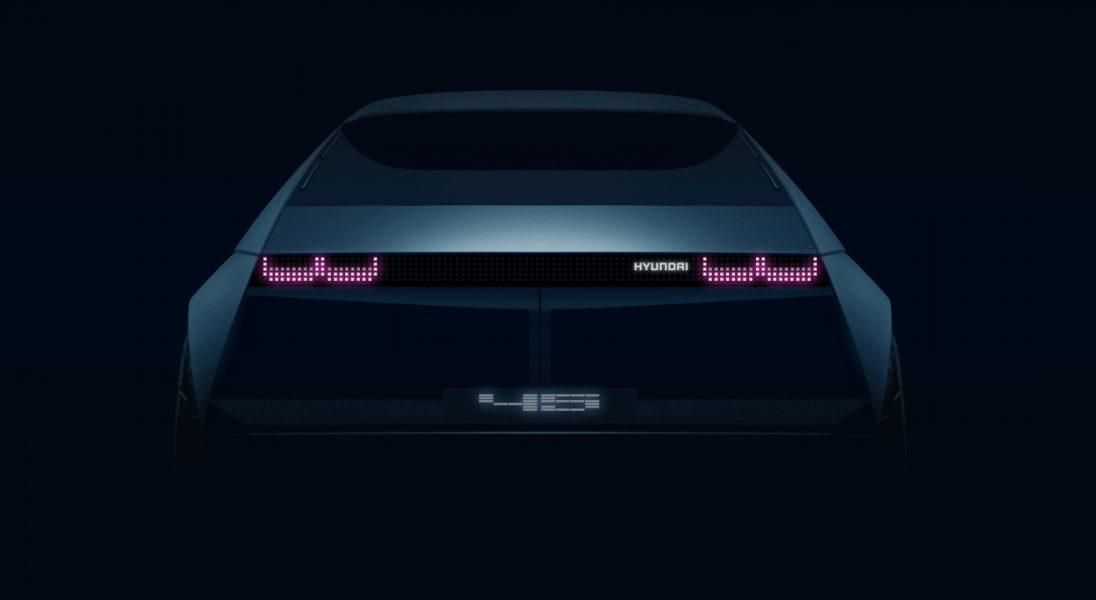 Już wkrótce Hyundai zaprezentuje swojego elektryka przyszłości – 『45』