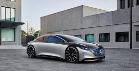 Mercedes-Benz zaprezentował swoją nową elektryczną limuzynę – Vision EQS