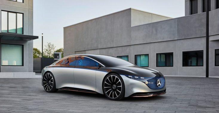 Mercedes-Benz zaprezentował swoją nową elektryczną limuzynę – Vision EQS<