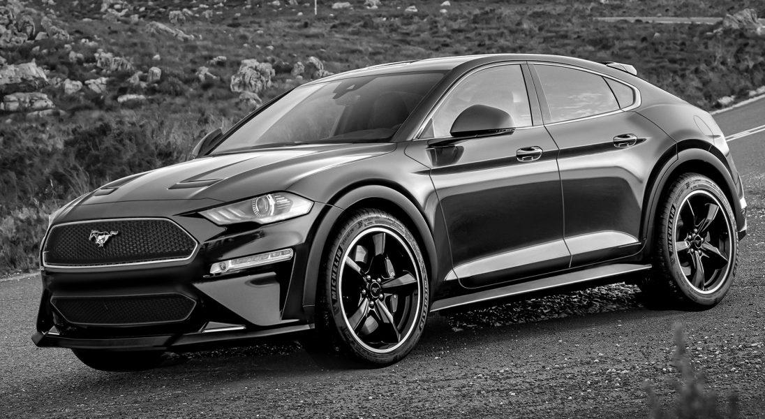 Czy tak będzie wyglądać SUV inspirowany Fordem Mustangiem?