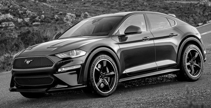 Czy tak będzie wyglądać SUV inspirowany Fordem Mustangiem?<