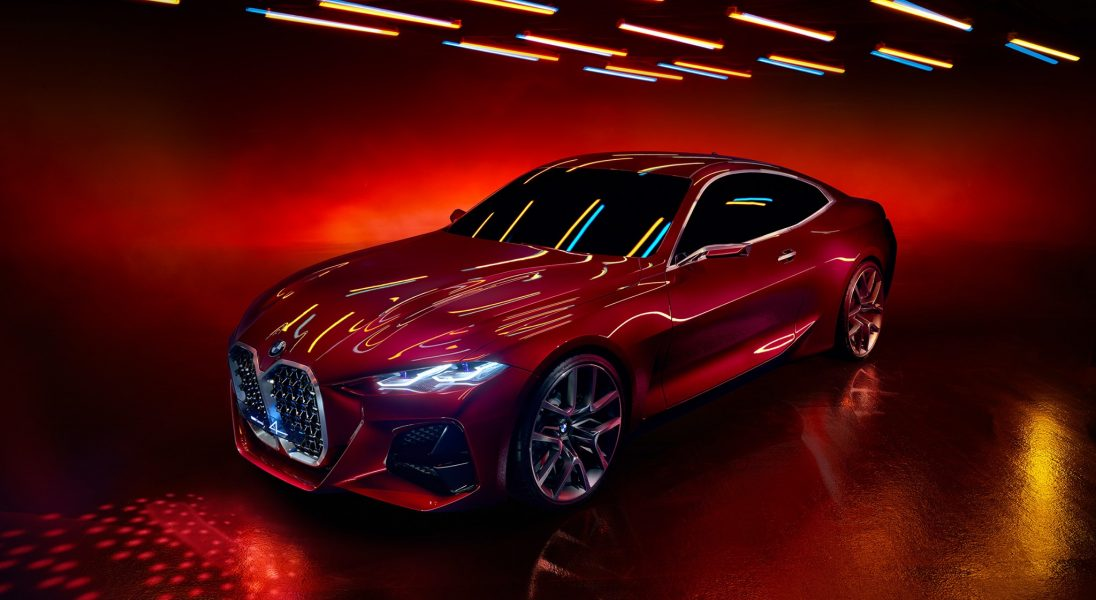 BMW zaprezentowało nowy koncept Coupe 4