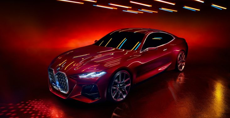 BMW zaprezentowało nowy koncept Coupe 4<
