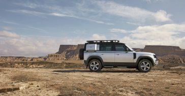 Oto nowy Land Rover Defender, czyli połączenie SUV'a i auta terenowego