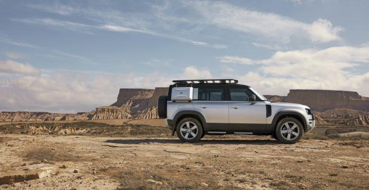 Oto nowy Land Rover Defender, czyli połączenie SUV'a i auta terenowego<