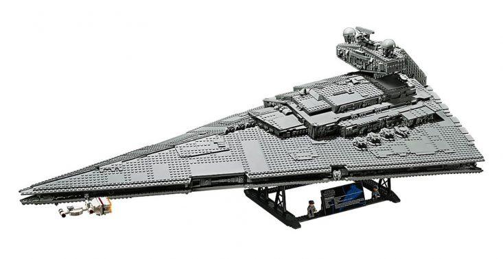 """LEGO zaprezentowało nowy zestaw Star Wars – ,,Imperial Star Destroyer""""<"""